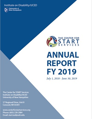 Center for START Services Fiscal Year 2019 Report