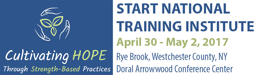 START National Training Institute April 30 - May 2, 2017 in Rye Brook New York