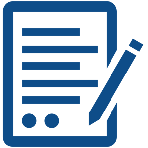 icon representing a paper evaluation