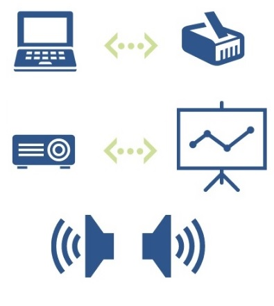 icons depicting host site requirements