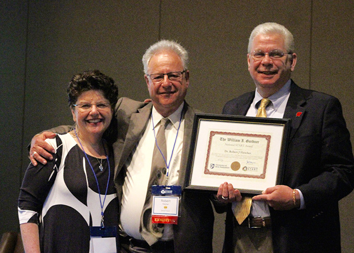 Dr. Bill Fletcher receives William I Gardner Award