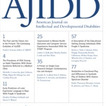 image of the American Journal on Intellectual and Developmental Disabilities