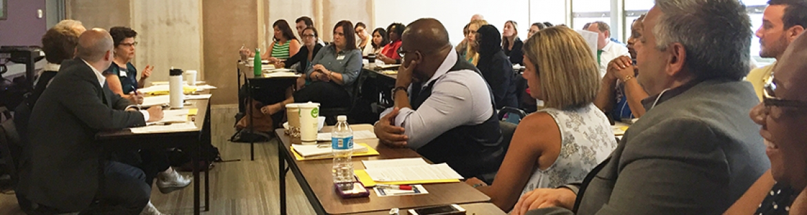 Picture of START Director training group of professionals in New York City